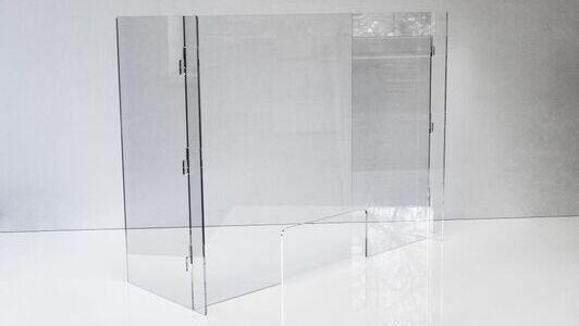 Acrylglasscheiben - perfekt für Apotheken oder Geschäfte